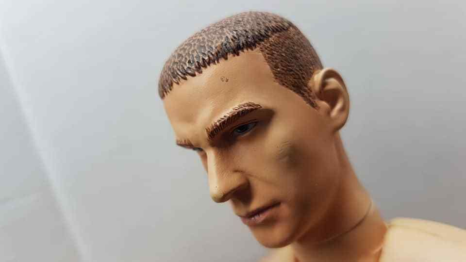 """WONDERY 1:6 Female Movable Eyes Head Carving Model WLS005A For 12/"""" Action Figure"""