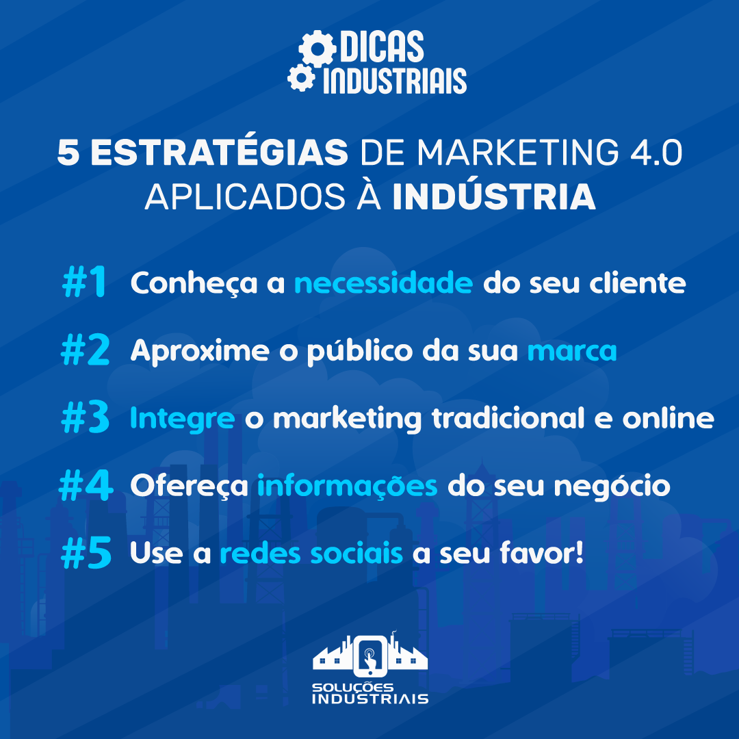 5 Estratégias de Marketing 4.0 Aplicados à Industr...