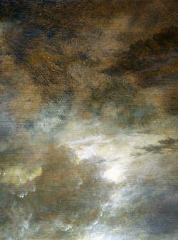 Aert van der Neer - A River near a Town, by Moonlight (about 1645)