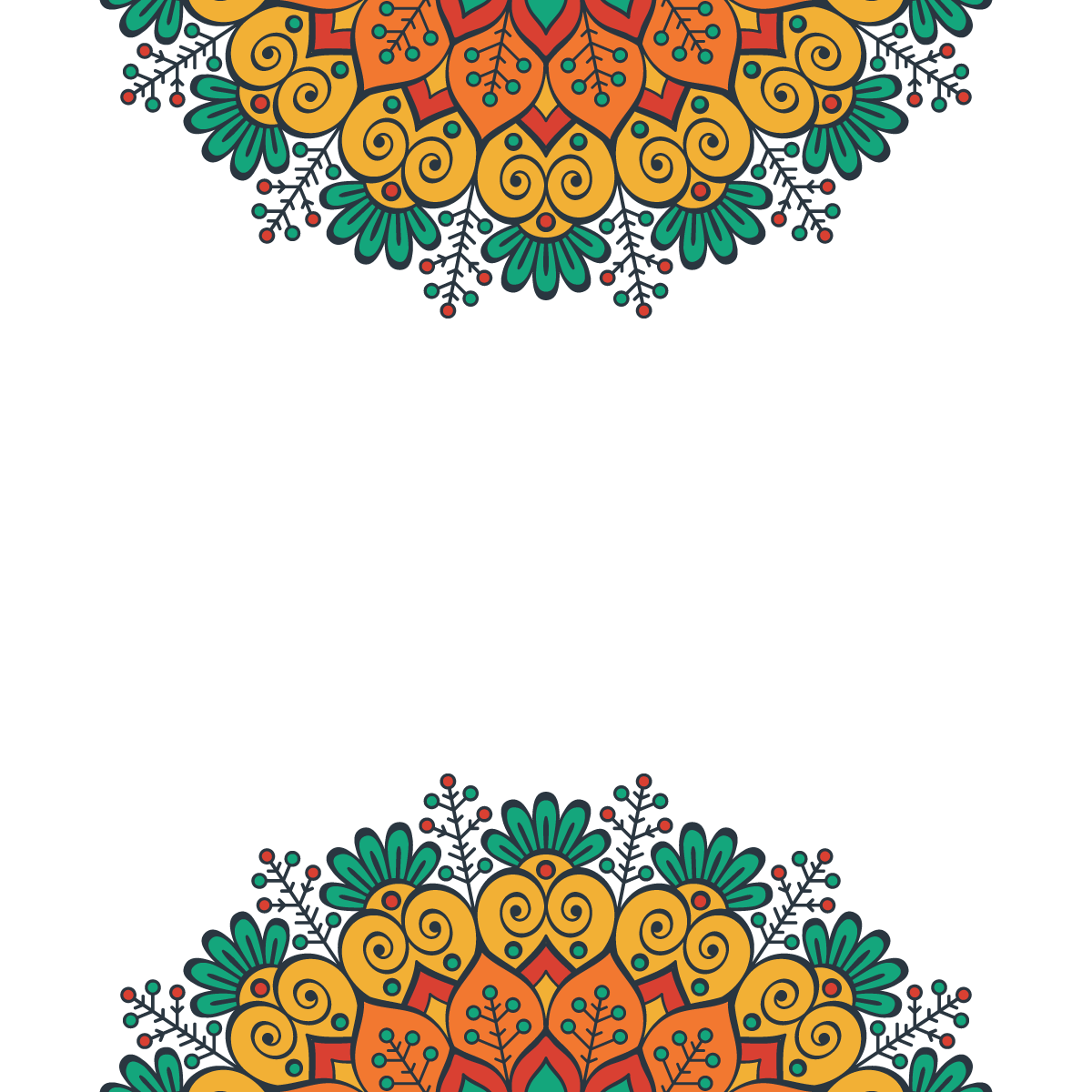 Festival Mandala Patterns Mandala Design Art Vector Background Pattern Mandala Pattern
