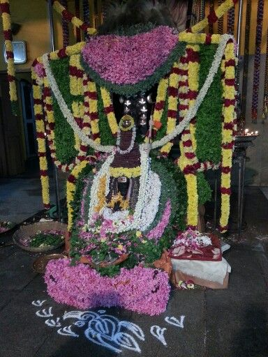 The samadhi or the final resting place of Kanchi Mahaswami, Sri