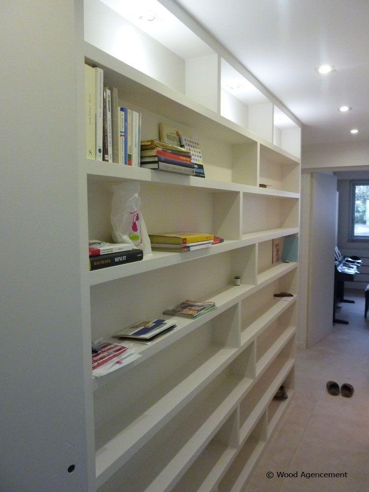 rangement dans un couloir avec clairage bricolage que j 39 adore pinterest couloir deco et. Black Bedroom Furniture Sets. Home Design Ideas