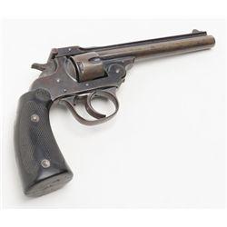 "Eastern Arms Co. DA top-break revolver, .32 cal., 5"" barrel, blue finish, extended checkered hard"