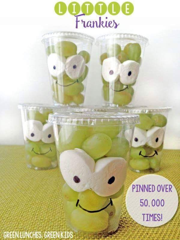 Easy kid snacks Potluck Halloween Pinterest Potlucks, Snacks - halloween treat ideas for toddlers