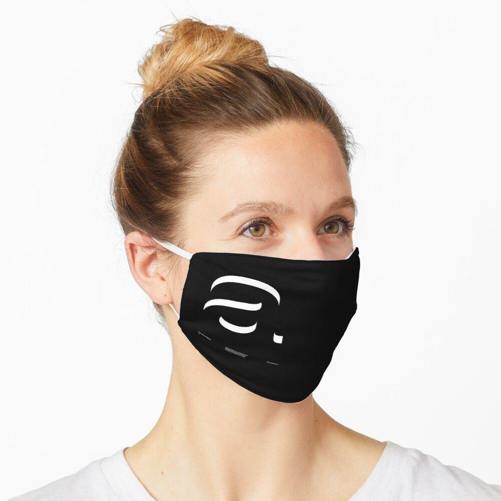 A Helvetica Neue V2 Mask By Sub88 Masque Masque Visage Masque Noir
