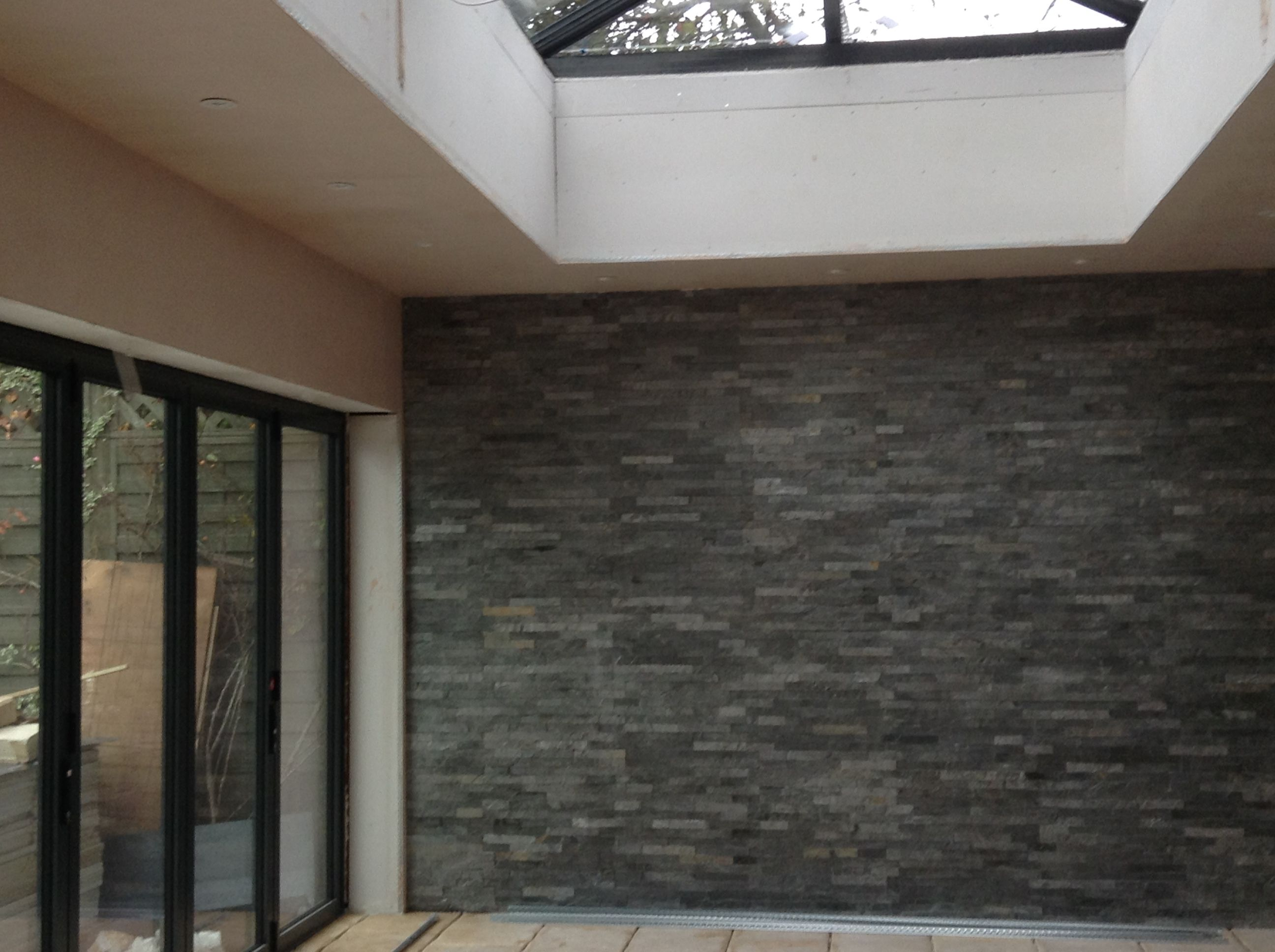 Absolutely stunning!! Our Silver Grey Split Face Mosaic Tiles as a ...