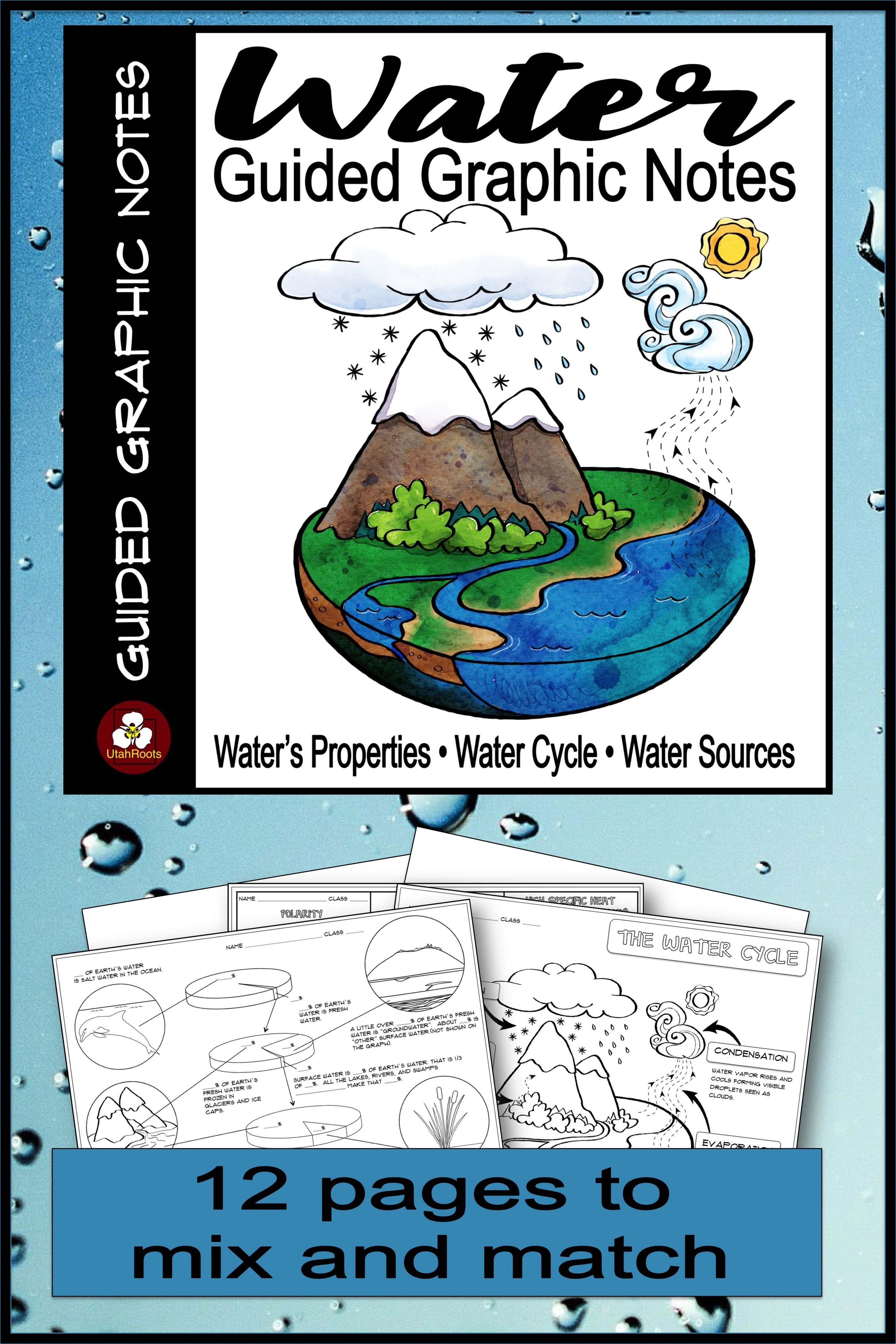 Properties Of Water Water Sources The Water Cycle Guided
