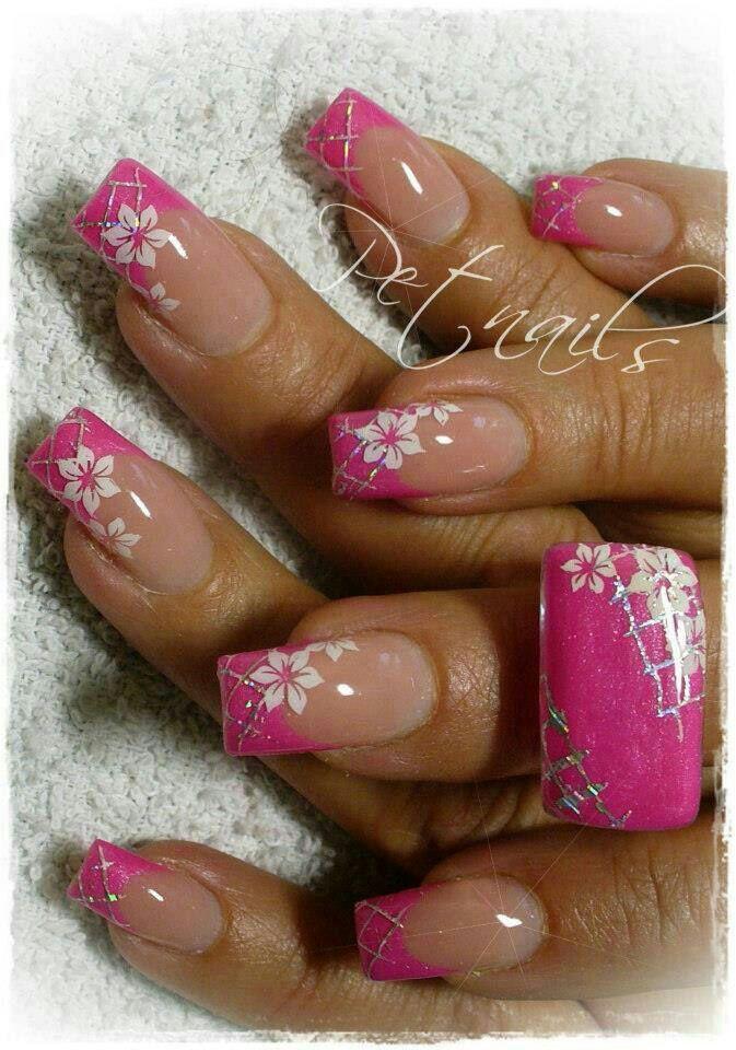 Uñas decoradas   Mexico nails   Pinterest