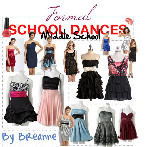 5c32c58a9b0 Formal Middle School Dance outfits some of these are cute and would be cute  with a jacket