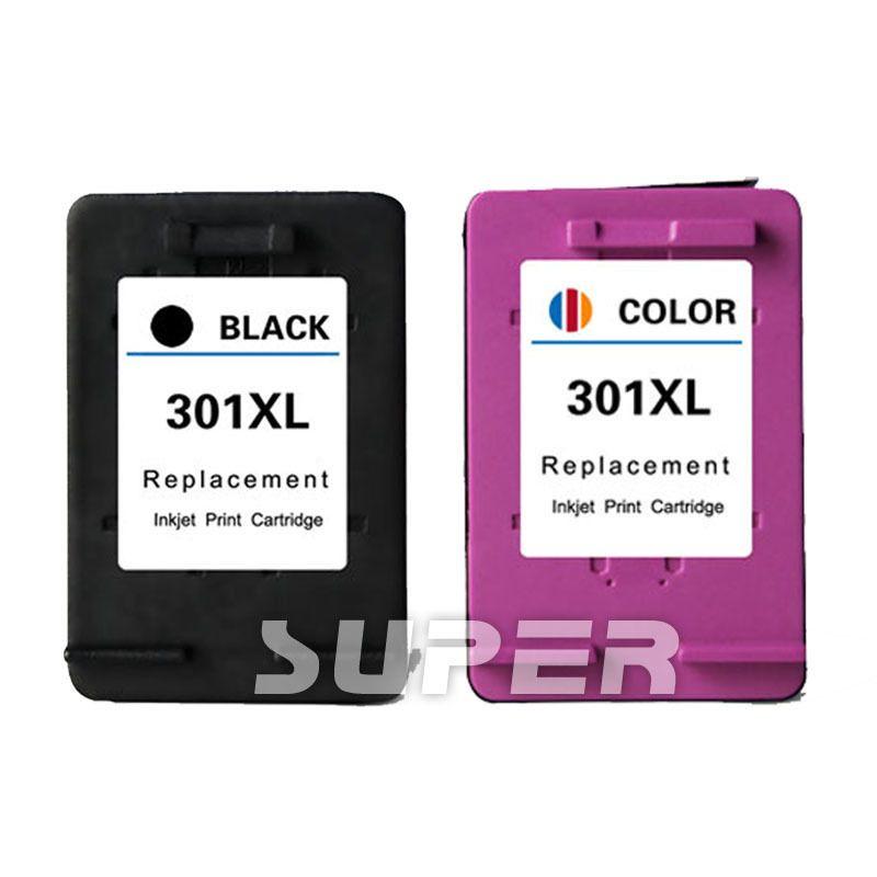 For Hp 301 Black Colour Ink Cartridge Set For Deskjet 1050a 3050