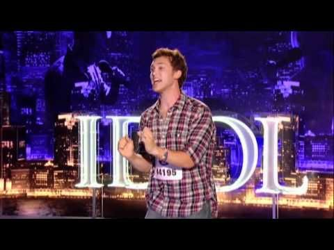 Phillip Phillips American Idol Audition Superstition Thriller