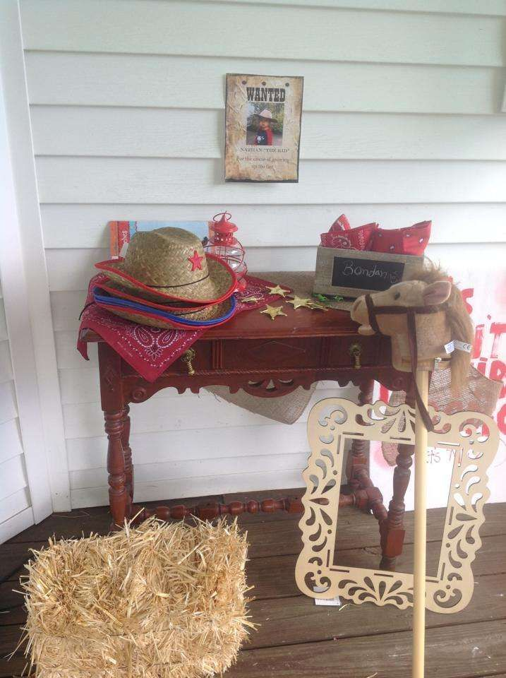 Cowboy Birthday Party Ideas | Photo 4 of 36 | Catch My Party