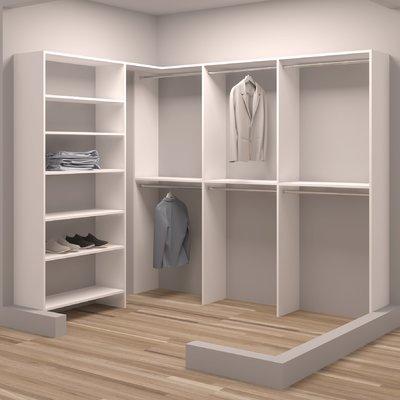 Tidysquares Inc Demure Design 71 5 W 93 W Closet System