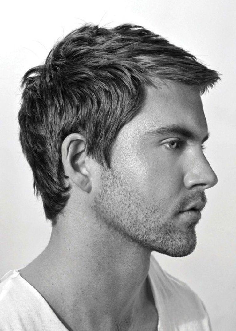 Medium short haircut for men trending mens short hairstyles uk  menus hair  pinterest  hair