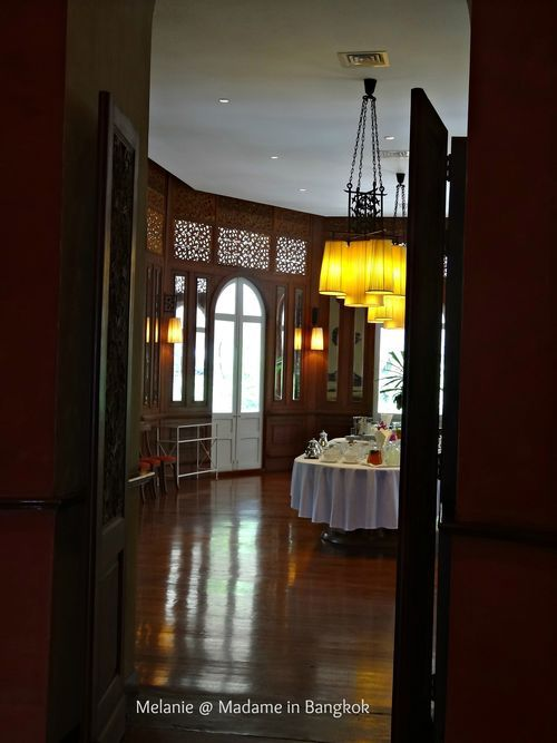Old colonial style . Residence de France / Bangkok