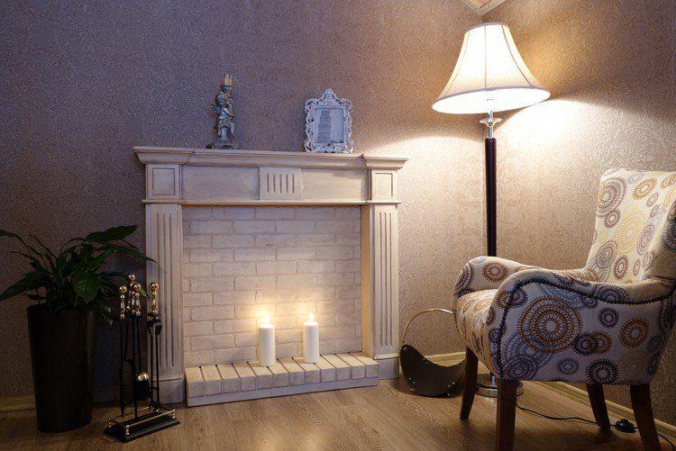 fausse chemin e d corative pour se chauffer les yeux et agr menter l int rieur deco. Black Bedroom Furniture Sets. Home Design Ideas