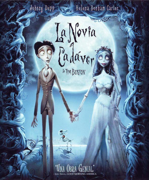 30 Películas Para Ver En Halloween Con Niños El Cadaver De La Novia El Cadáver De La Novia Películas De Animación