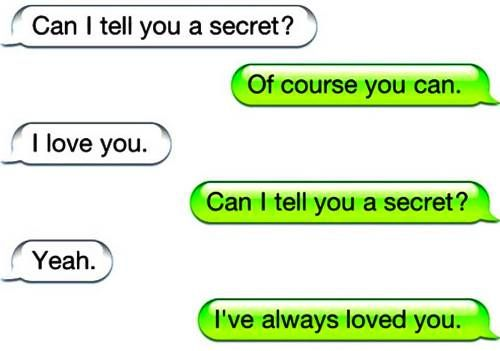 Love Quotes Text: 25 Heart Warming And Cute Text Conversations