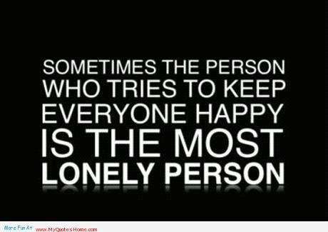 Funny Quotes On Staying Positive | ... lonely being happy quotes ...