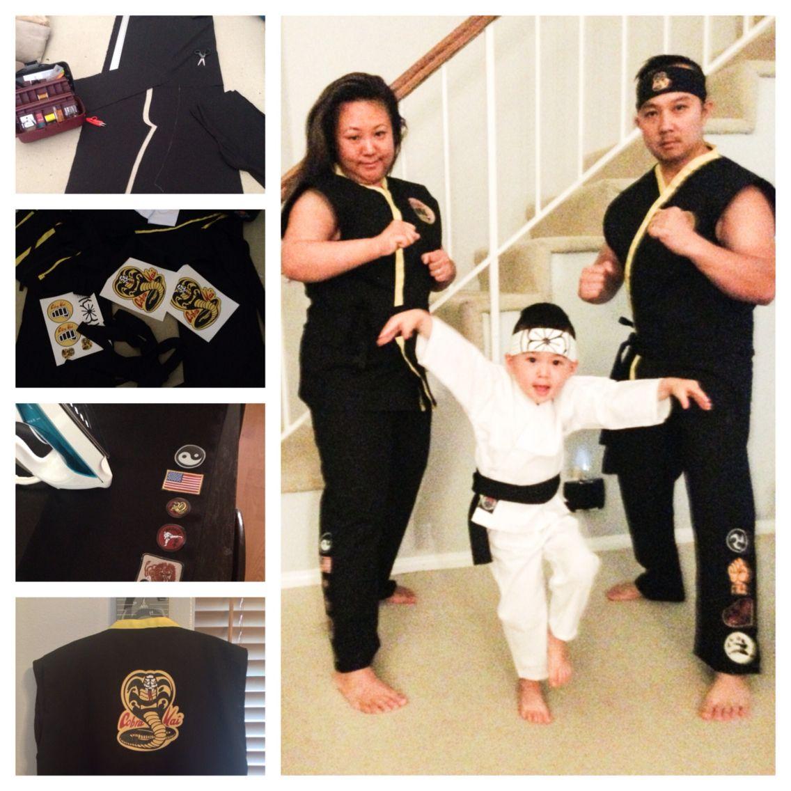 The Karate Kid, Cobra Kai Halloween Costumes Playing