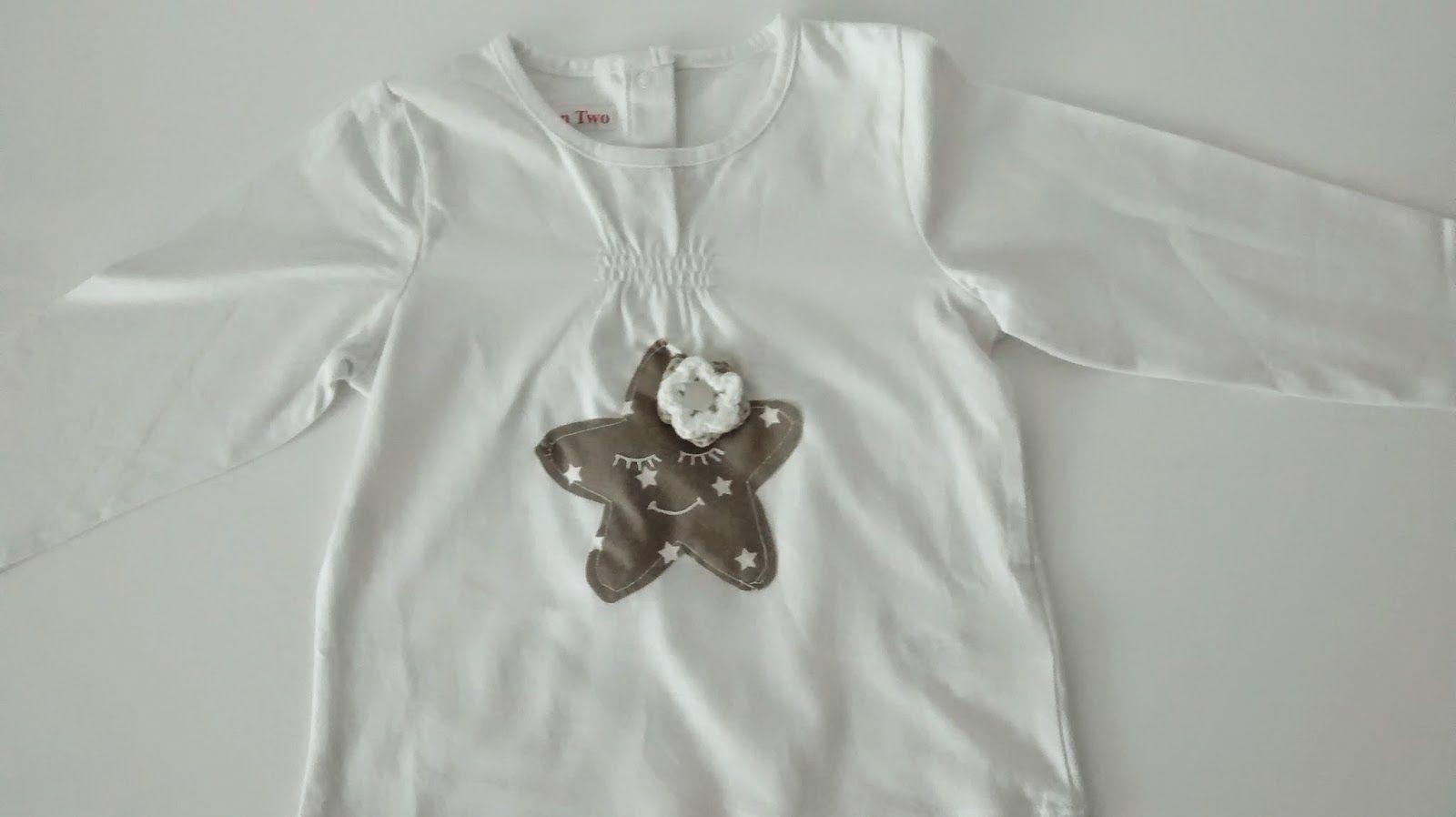 Between Two : Camiseta estrella niña
