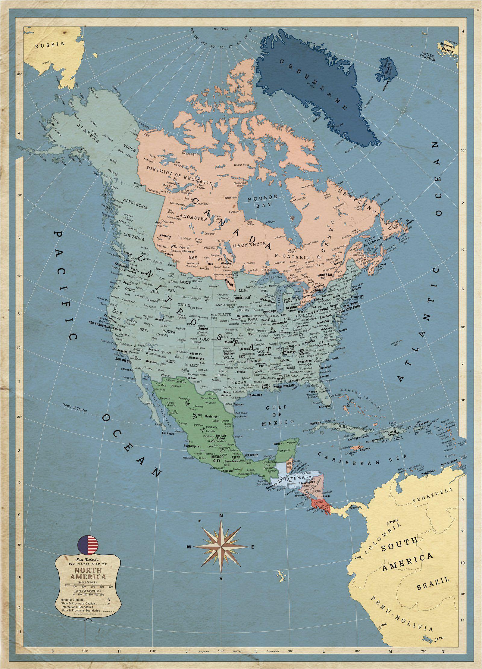 Greater America Alternative Geschichte History Alternate