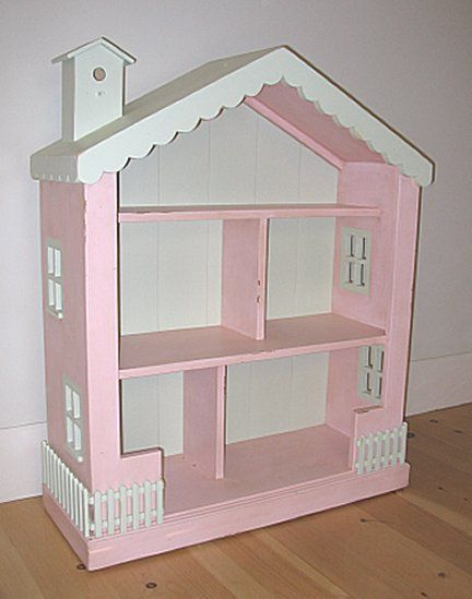 The High Low Project Dollhouse Dollhouse Bookcase Dolls Wooden