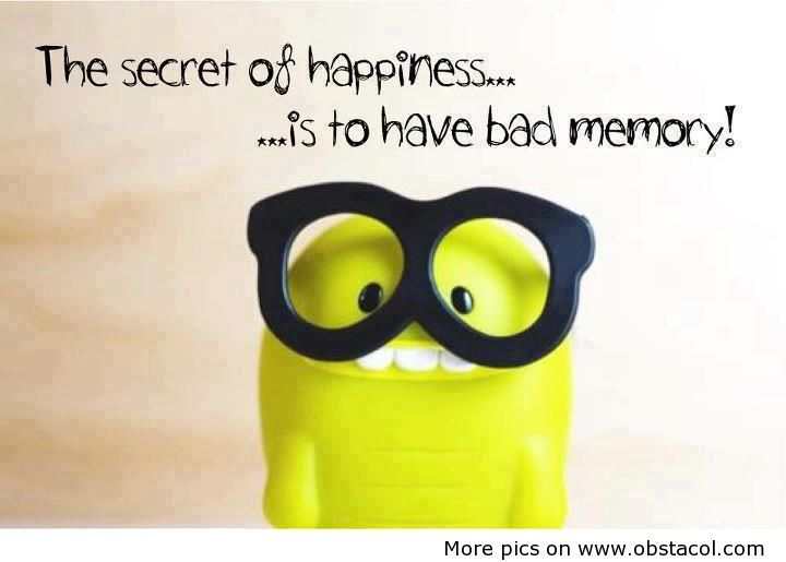 The Secret Of Happiness Cute Quotes