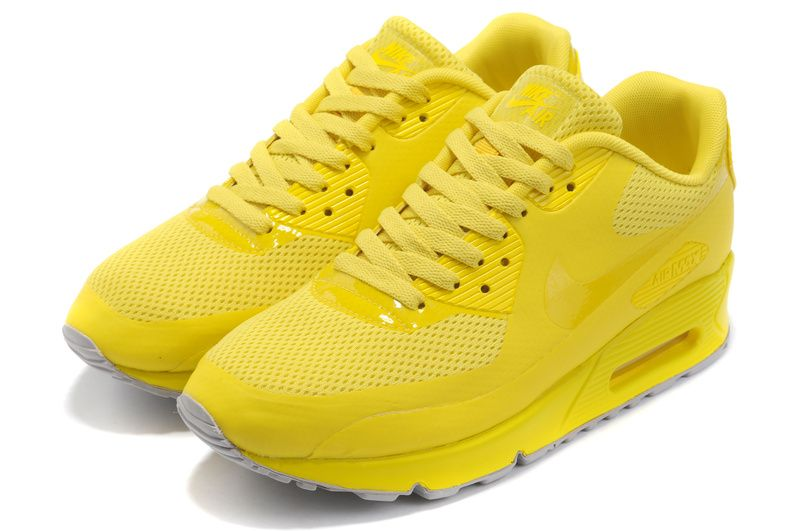 nike air max 90 hyperfuse neon yellow buy