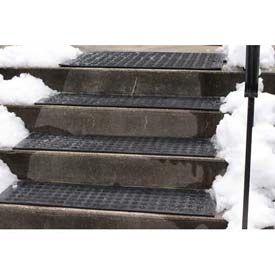 Hotflake™ Outdoor Heated Anti Slip Stair Tread Mat 11 X 38 240V | Outdoor Stair Treads Home Depot | Anti Slip Stair | Rugs | Non Slip | Tread Covers | Pressure Treated