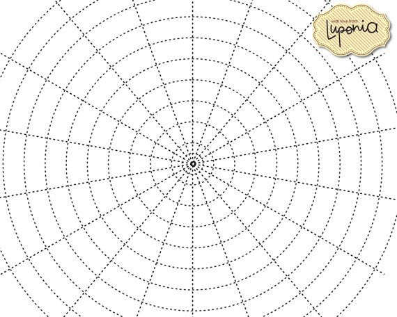 Mandala Grid Paper 12 Different Grids by Luponia on Etsy ...