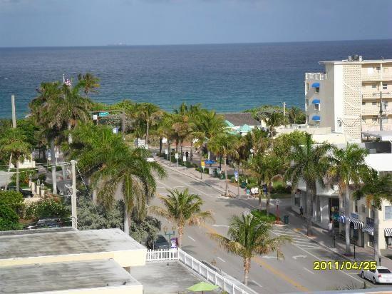 View From Hotel Room Of The Ocean Residence Inn Delray Beach Marriott Florida