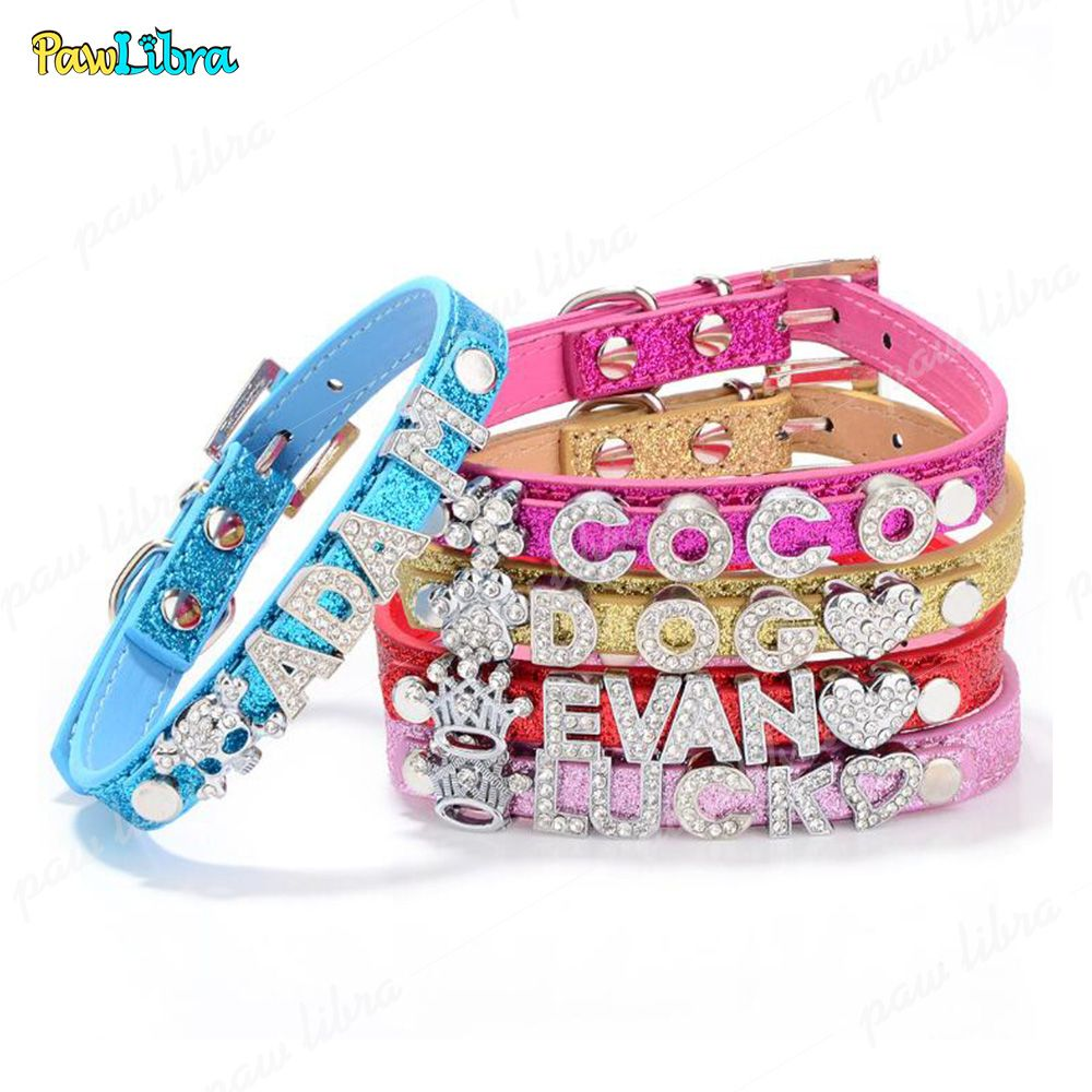 4caa786dce Personalized Collar of Pet's Name - Best For Dog and Cat-White-XL in ...