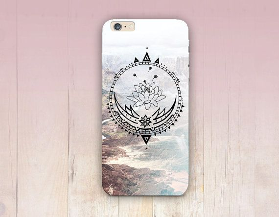 Lotus Mandala Phone Case For iPhone 6 Case iPhone 5 by CRCases