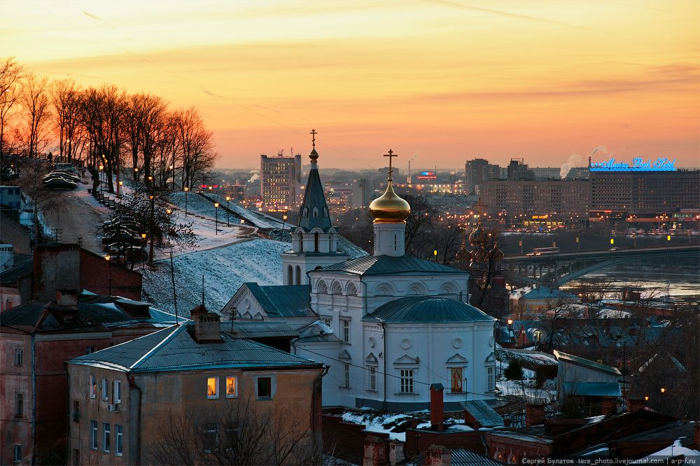 Свежемороженные фото Нижнего Новгорода | Город, Каникулы и ...