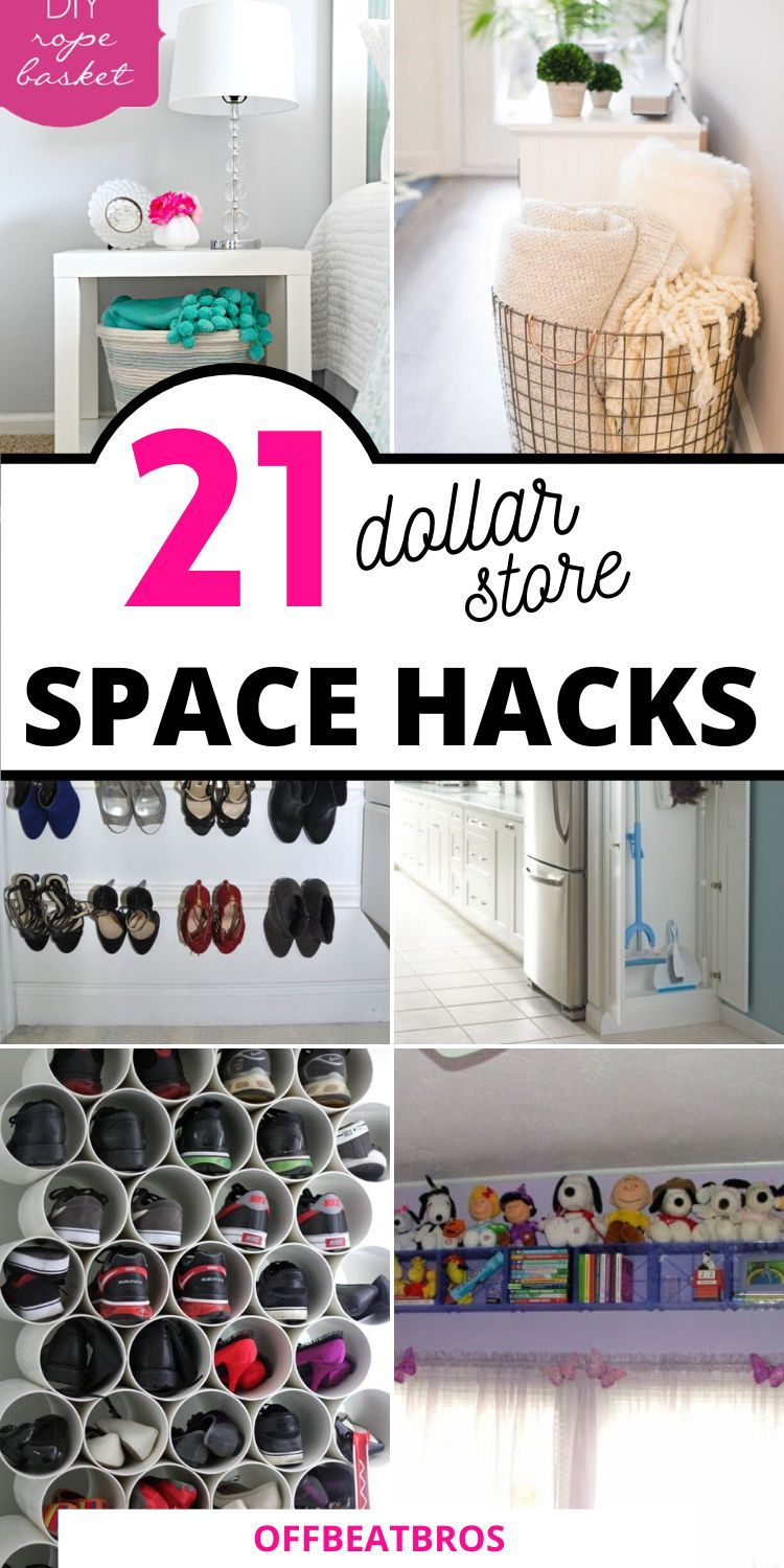 21 Dollar Store Organization Ideas For Small Spaces