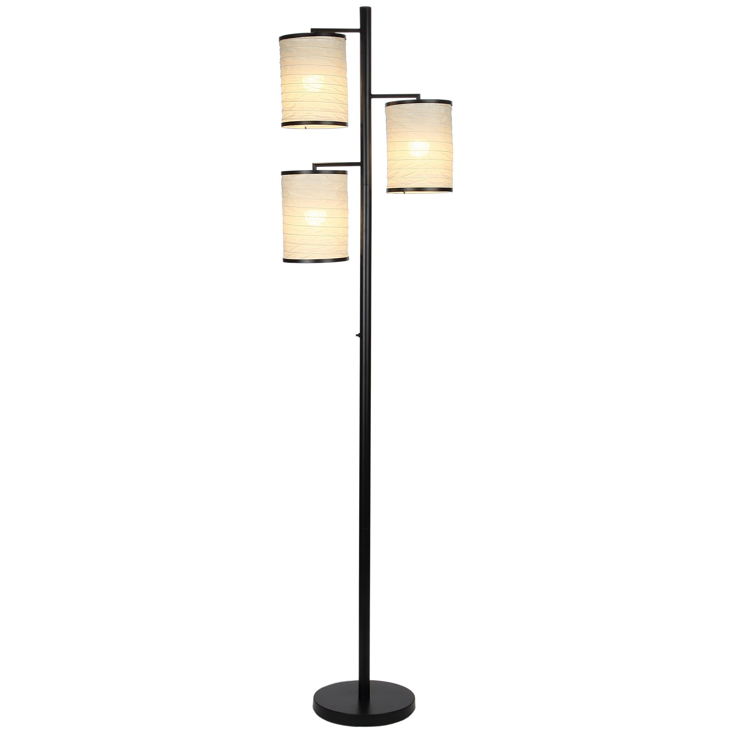 3 Light Floor Lamp Brightech Liam Led Floor Lamp  Classy And Stylish 3 Light Led Tree