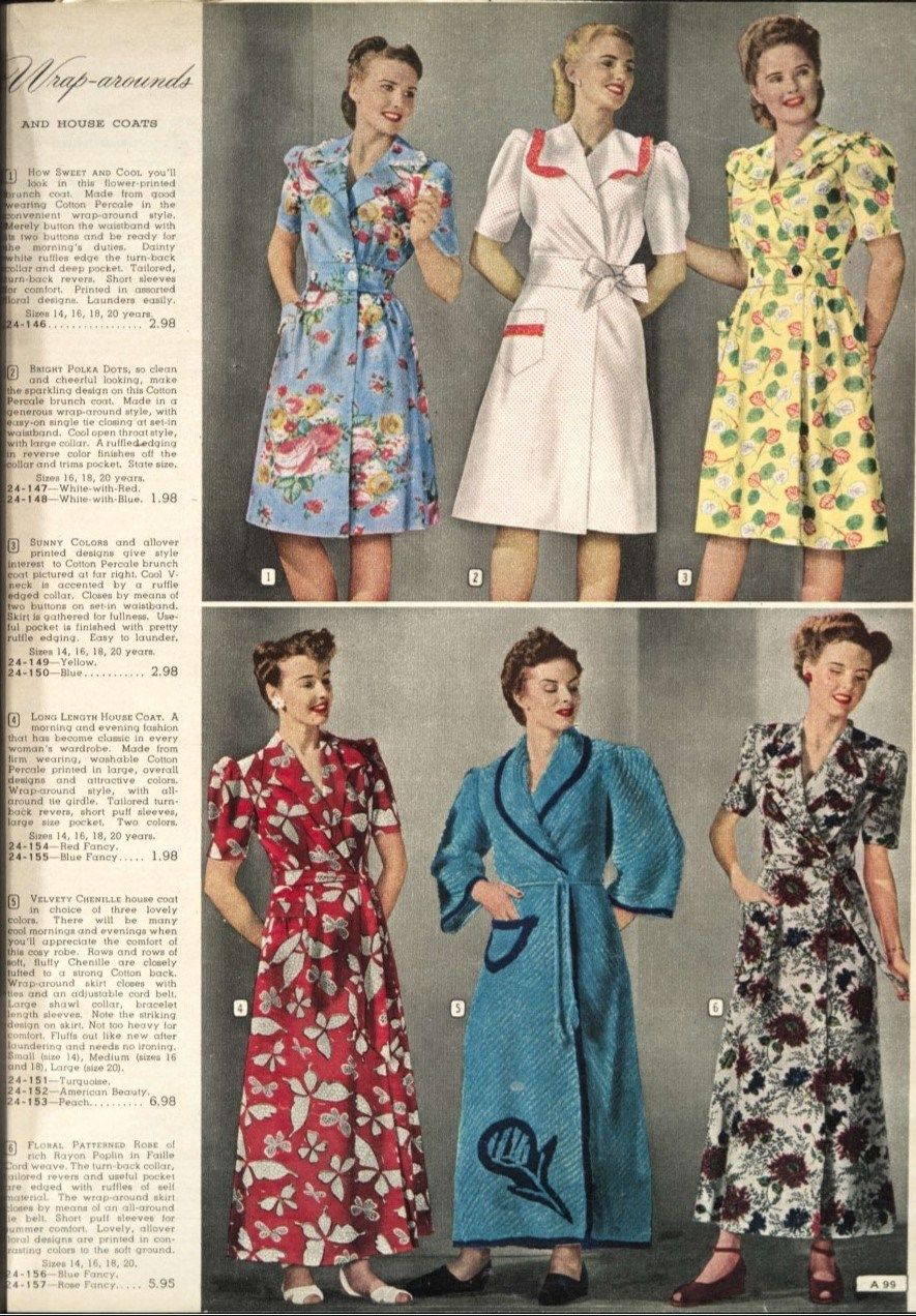 Inside A Canadian Simpson S Catalogue Women S Fashions Of Spring