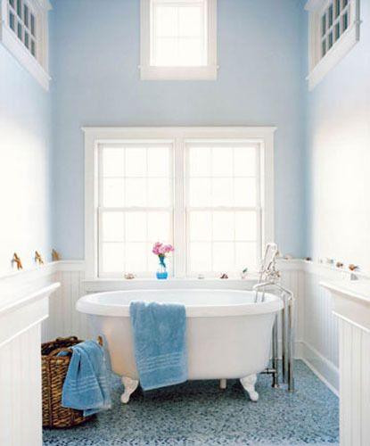 paint color portfolio pale blue bathrooms  bathroom
