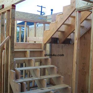 Deck Stairs With Landing Design | Building The Stairs   Stair Installation  Guide For Homeowners