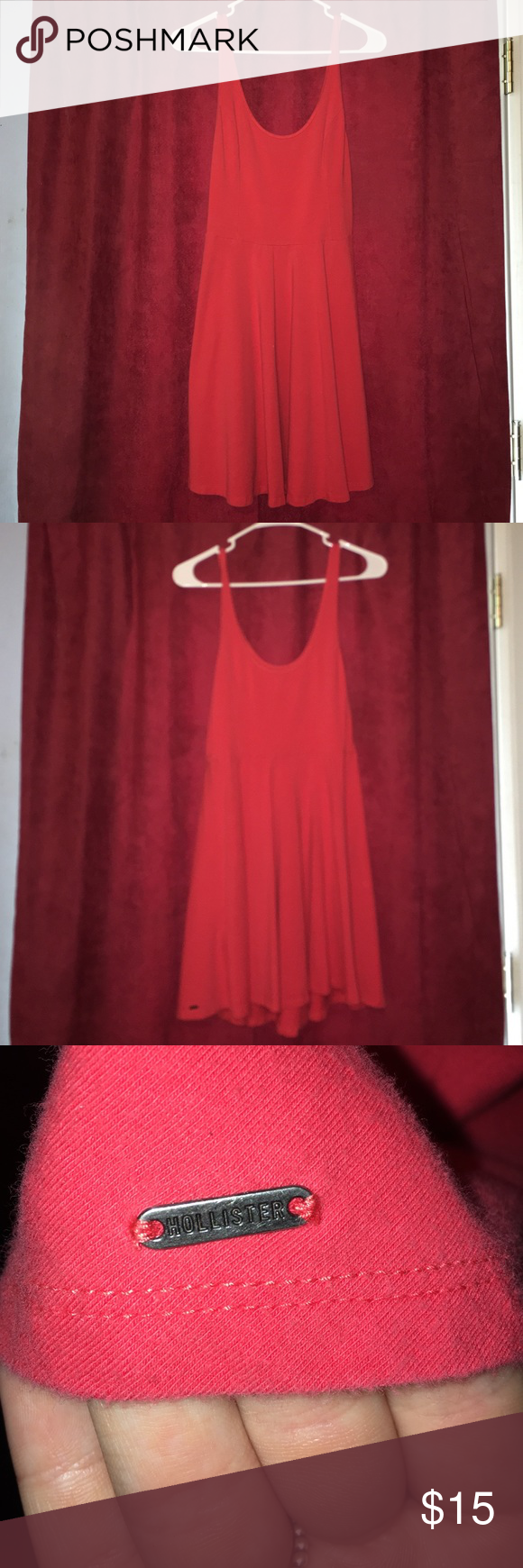 Dress I am selling a very cute lightly used Hollister dress. Very comfy! Hollister Dresses Mini