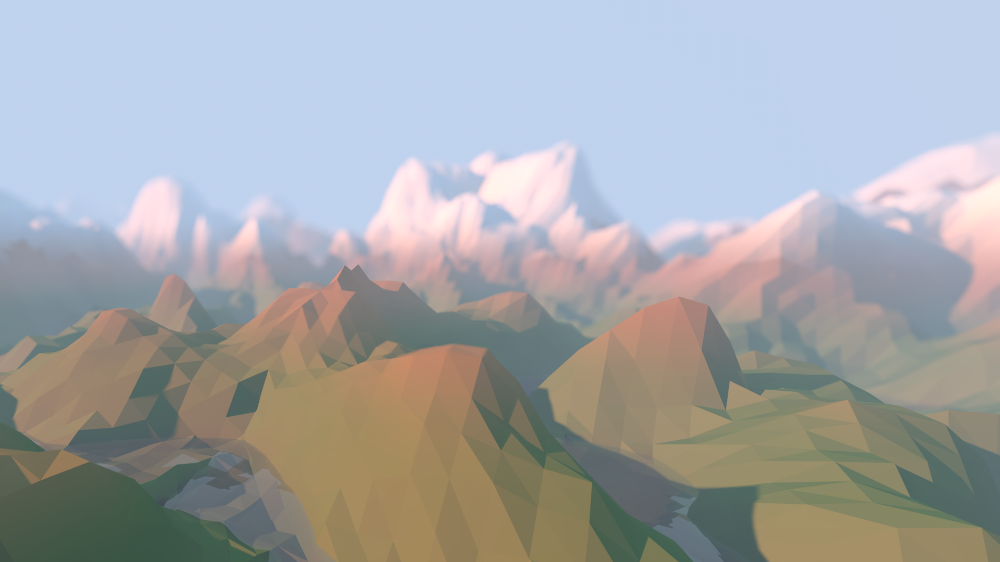 Low-poly mountains wallpapers (1920x1080) #lowalbum Low-poly mountains wallpapers (1920x1080) - Album on Imgur #lowalbum