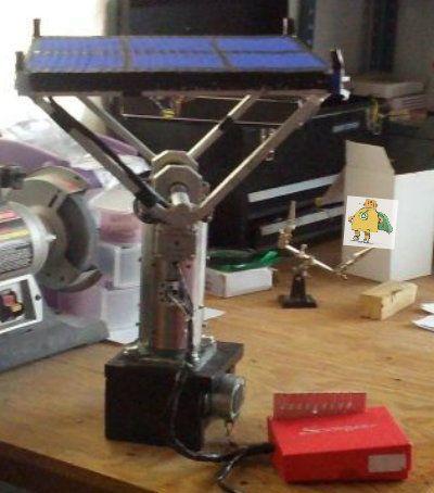 Stepper Motor Arduino Solar Tracker Ev Solar Tracker