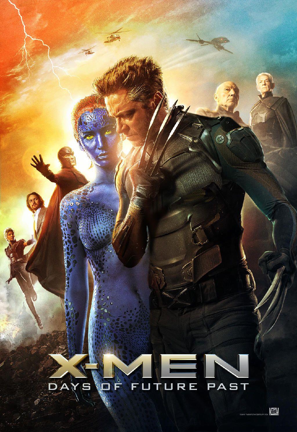 Epic Movie Xmen Daysoffuturepast Days Of Future Past X Men New Poster