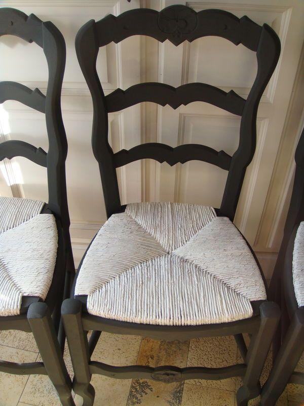 parfait relooker chaise paille moderniser une chaise en. Black Bedroom Furniture Sets. Home Design Ideas