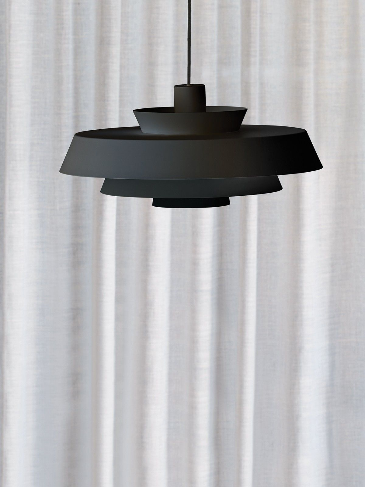Harlow Large Pendant in Black | kitchen lighting | Pinterest ...