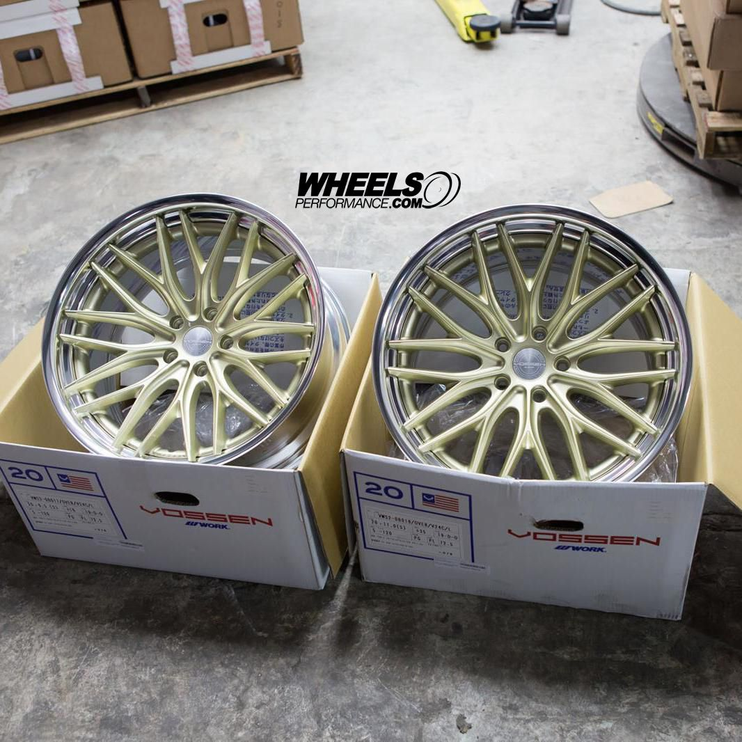 Vossen X Work Series VWS-2 Finished In #PlatinumGold