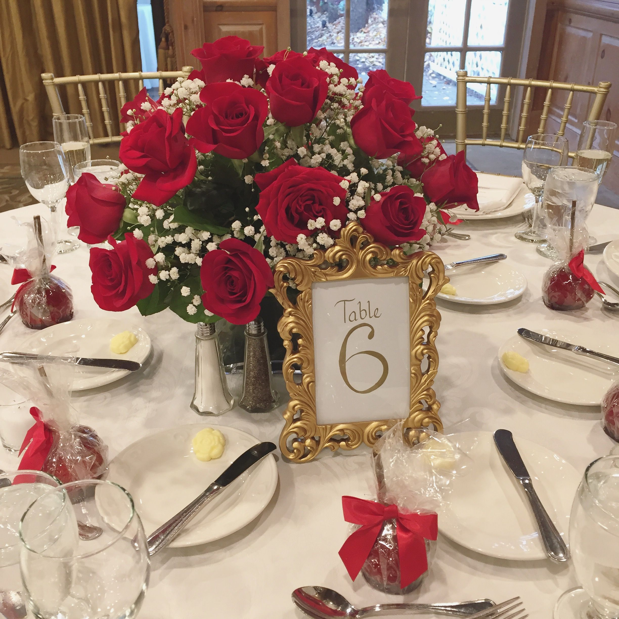 The Perfect Centerpiece For A Snow White Themed Wedding Wedding Centerpieces F Snow White Wedding White Wedding Centerpieces Snow White Wedding Invitations