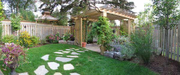 30 Maravillosas Fotos E Ideas Para Decorar Un Jardin Grande Moderno Decorar Jardin Con Piedras Decoraciones De Jardin Y Jardin Con Piedras