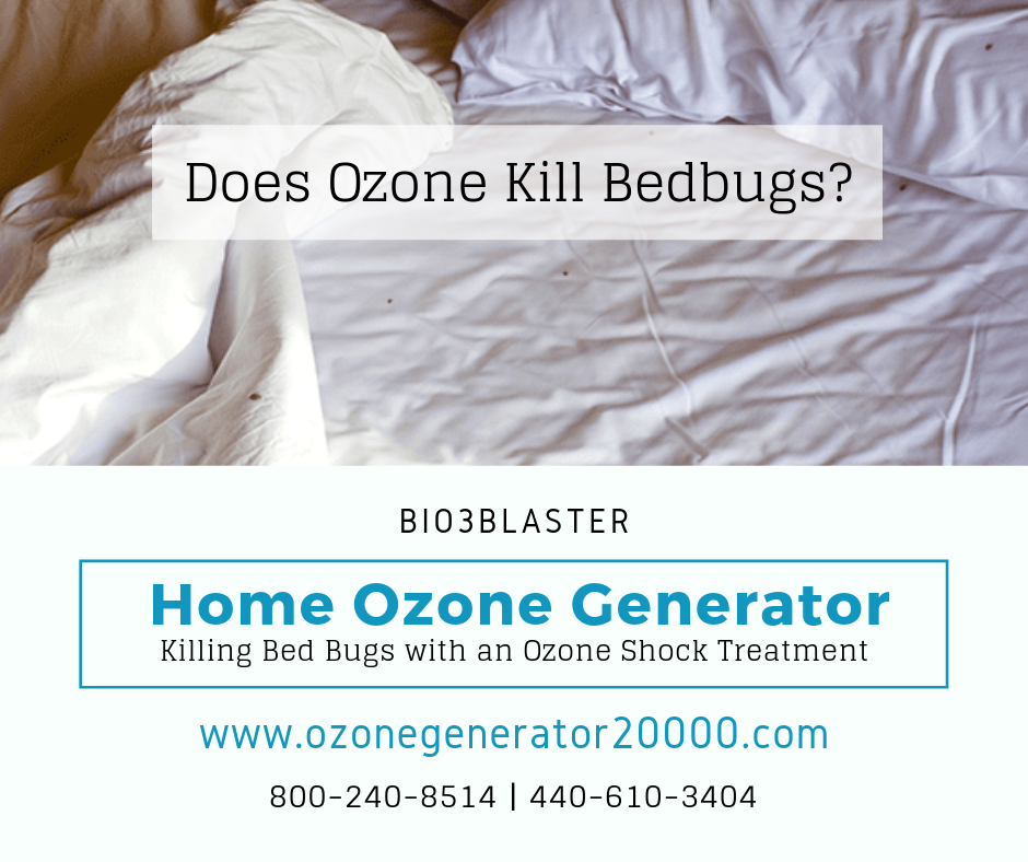 Ozone shock treatments in concentrations over 100,000MH/G